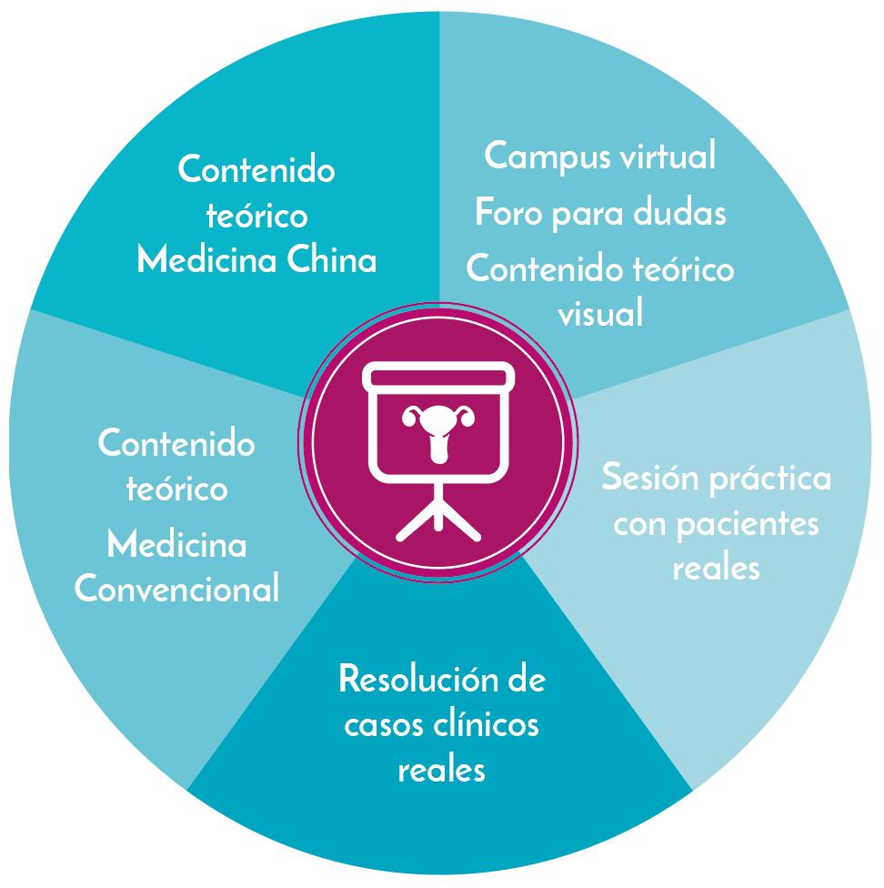 Metodología del Postgrado en Salud de la Mujer para acupuntores y terapeutas de Medicina China